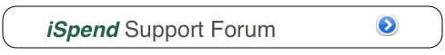 iSpend Support Forum